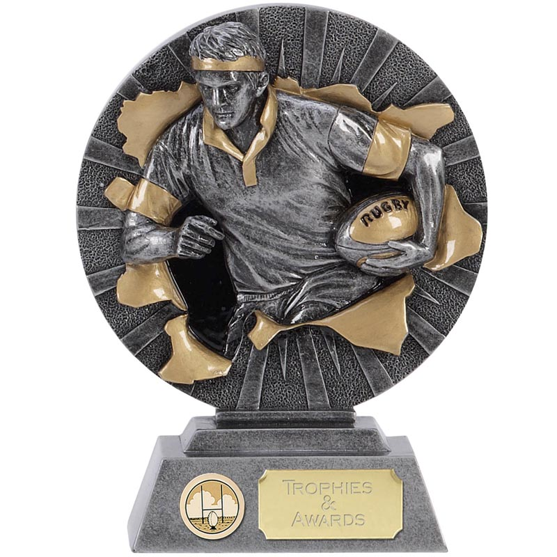 7 Inch Rugby Sprint Rugby Xplode Award