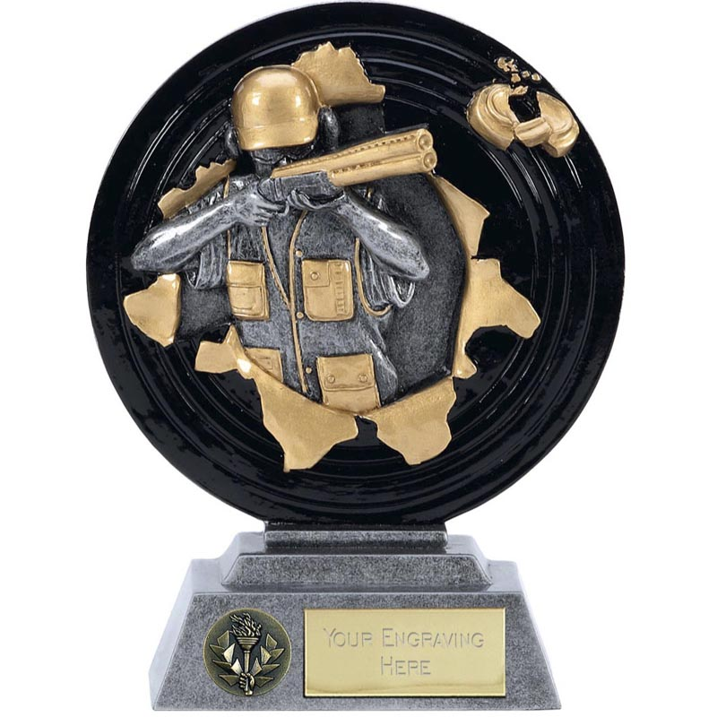 6 Inch Clay Shooter Shooting Xplode Award