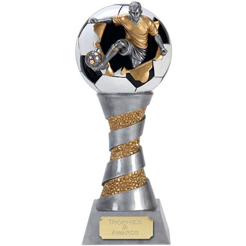 8 Inch Detailed Kick tower Football Xplode 3D Award