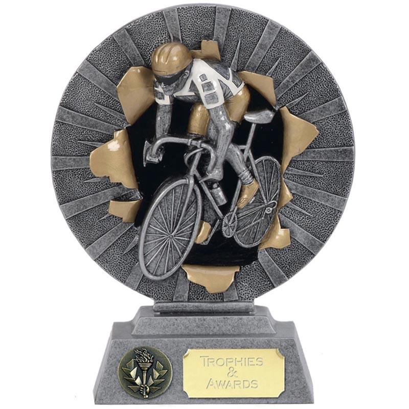 6 Inch Cyclist Cycling Xplode Award