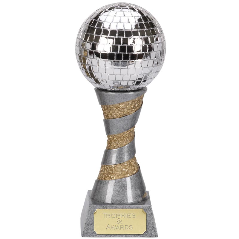 12 Inch Mirrorball Music Xplode Award