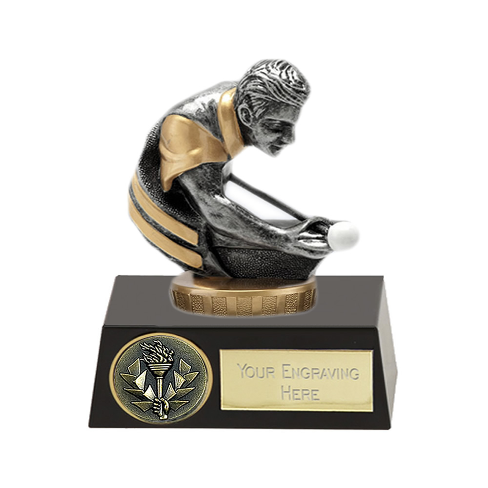 11cm Snooker/Pool Figure on Snooker & Pool Meridian Award