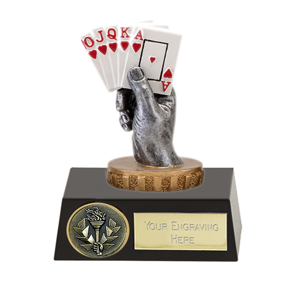 11cm Playing Cards Figure On Meridian Award
