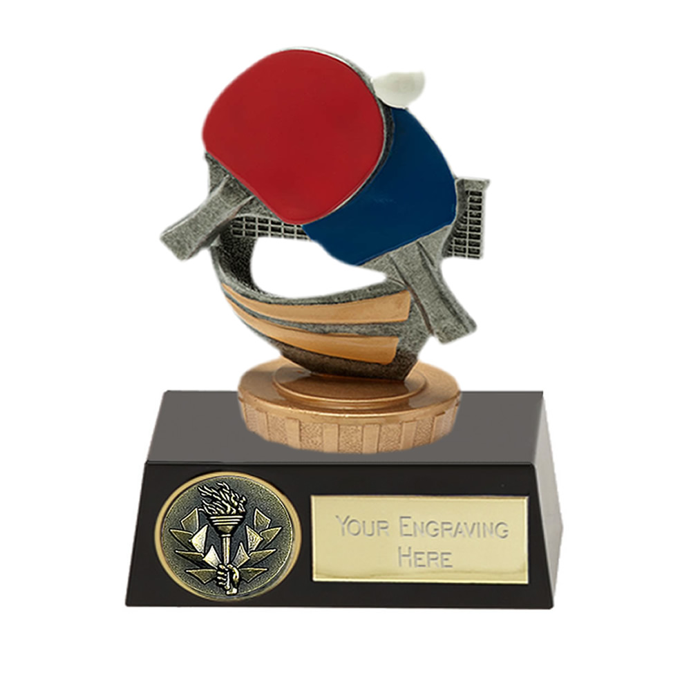 11cm Table Tennis Figure On Meridian Award