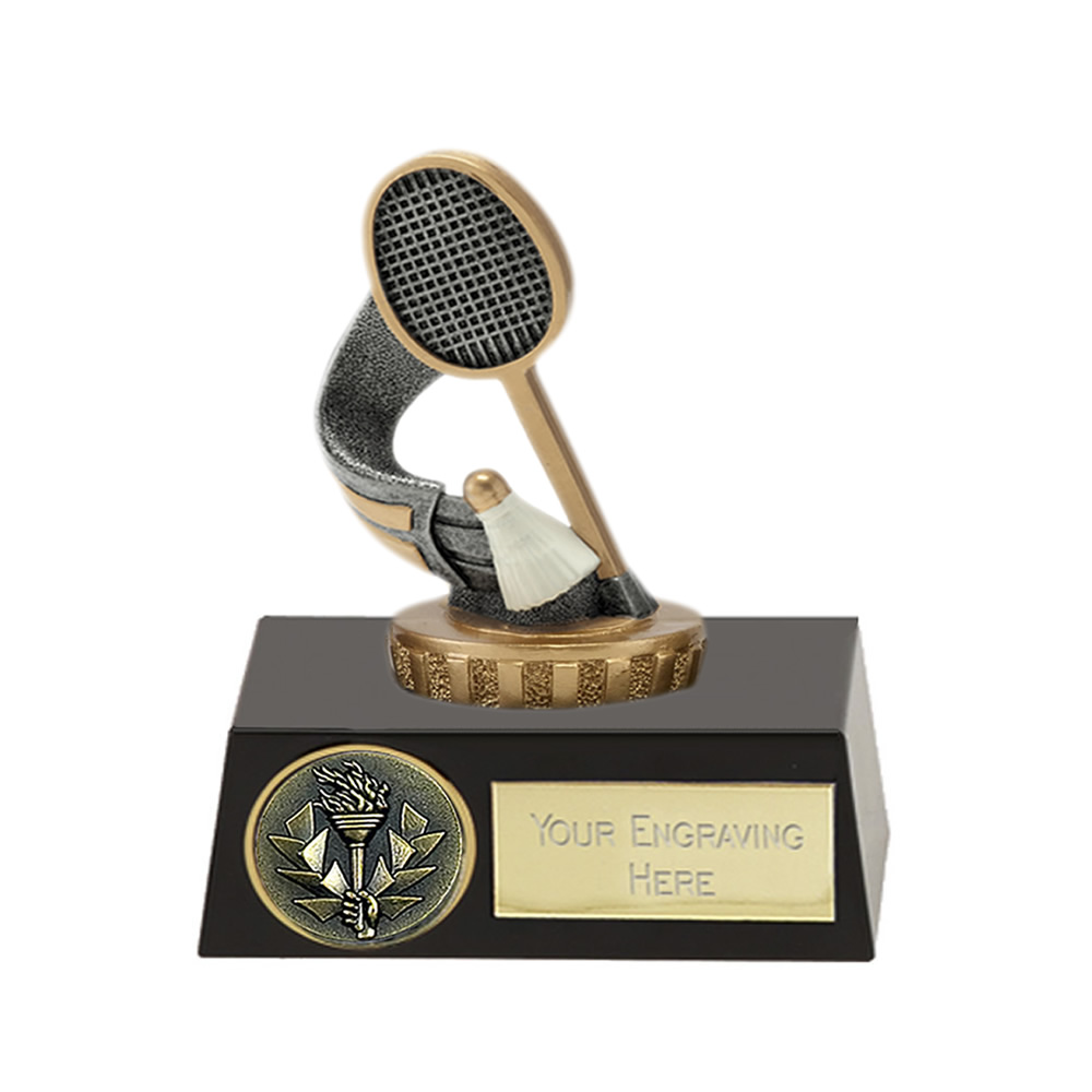 11cm Badminton Figure On Meridian Award