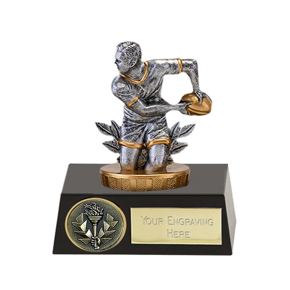 11cm Rugby Figure on Meridian Award