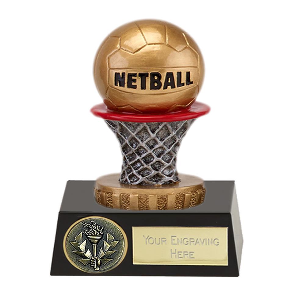 11cm Netball Figure on Netball Meridian Award