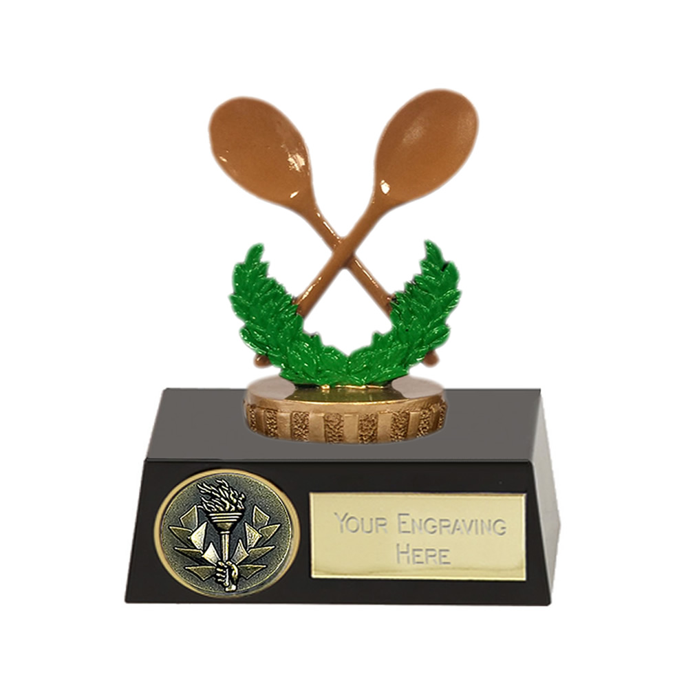 11cm Wooden Spoon Figure on Meridian Award