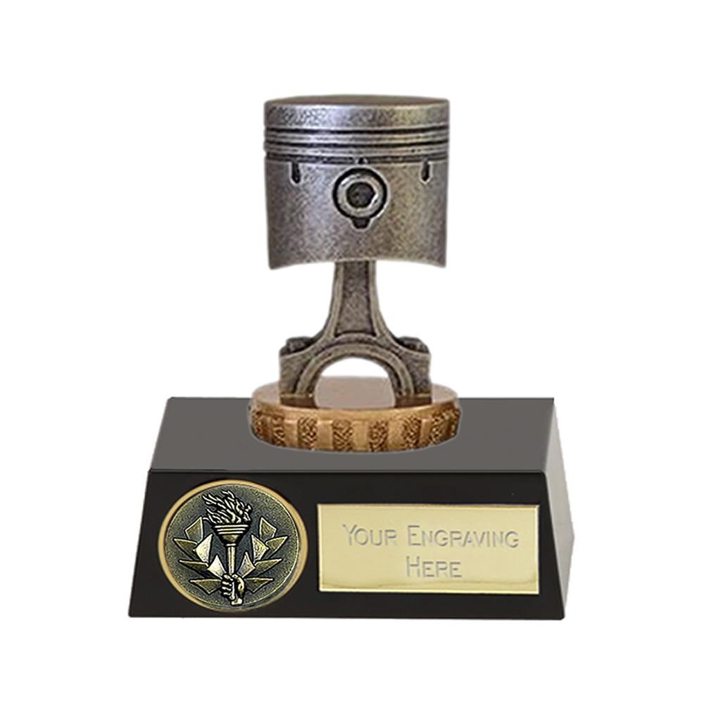 11cm Piston Figure On Motorsports Meridian Award