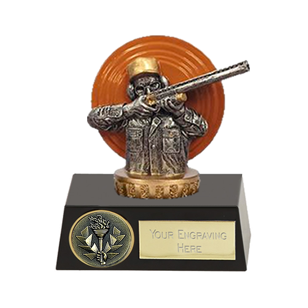 11cm Clay Shooting Figure on Shooting Meridian Award