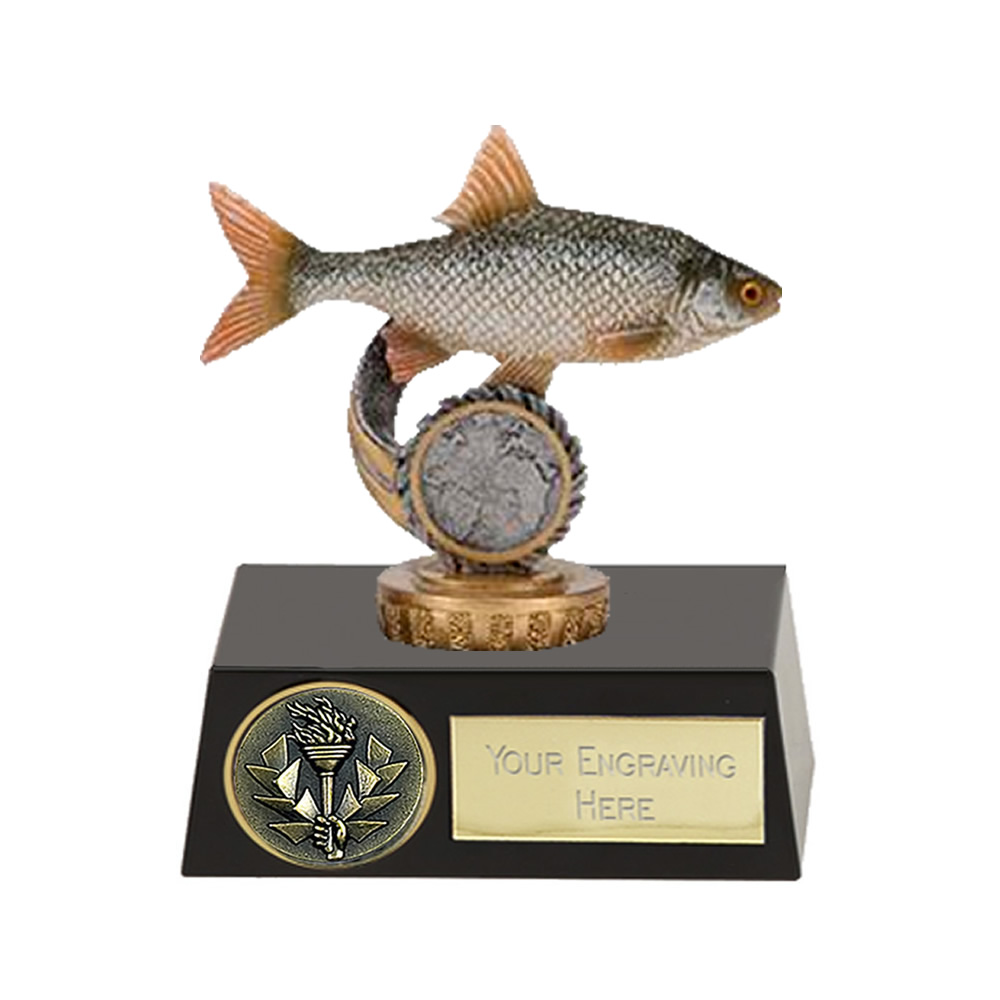 11cm Fish Roach Figure on Fishing Meridian Award