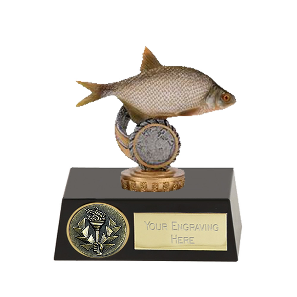 11cm Fish Bream Figure on Fishing Meridian Award