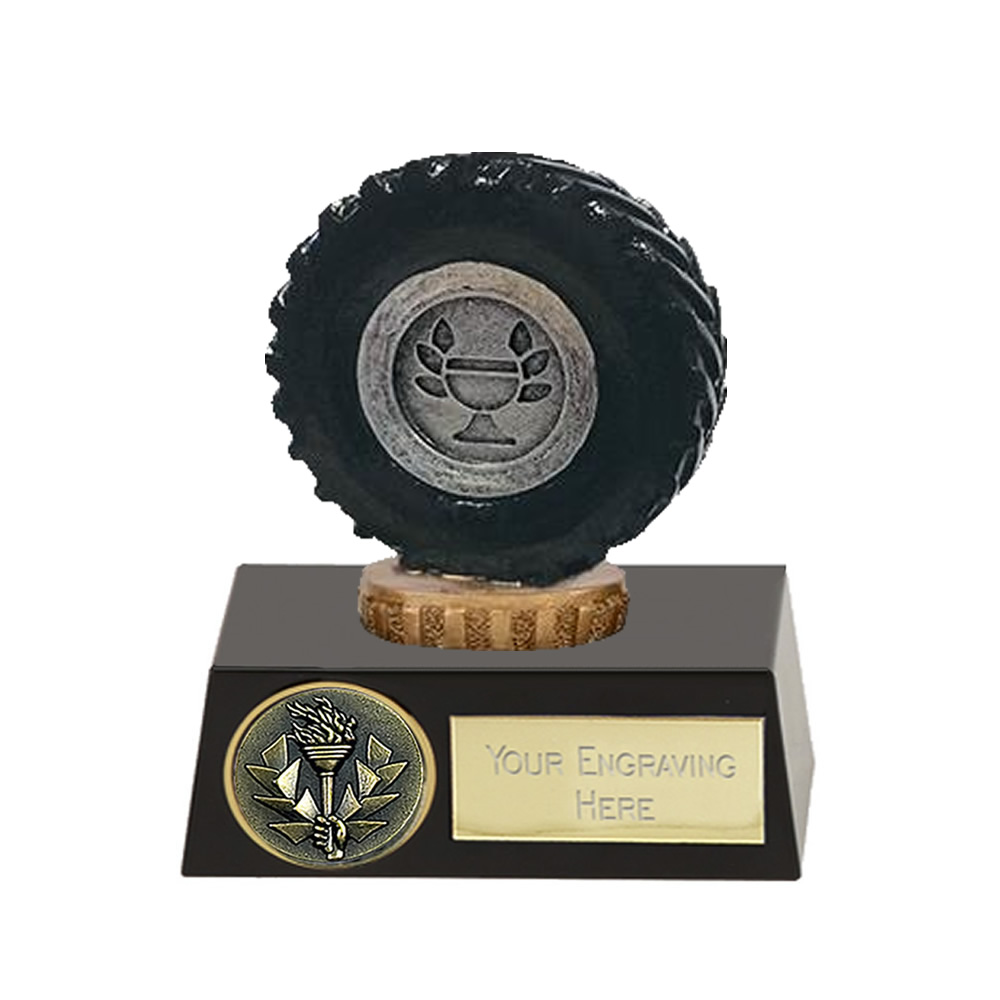 11cm Tractor Tyre Figure on Tractor Meridian Award