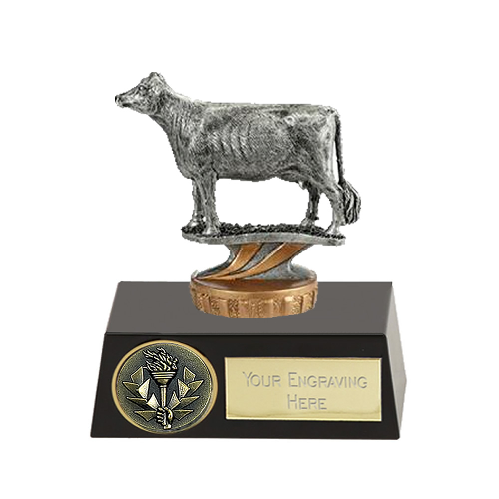 11cm 3D Cow Figure on Pets Meridian Award