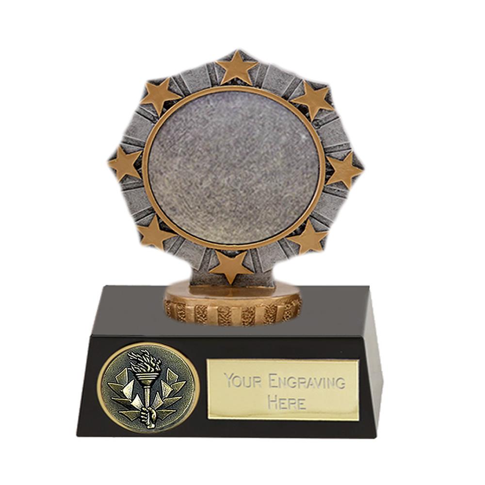 11cm Worlds Best centre Figure on Meridian Award
