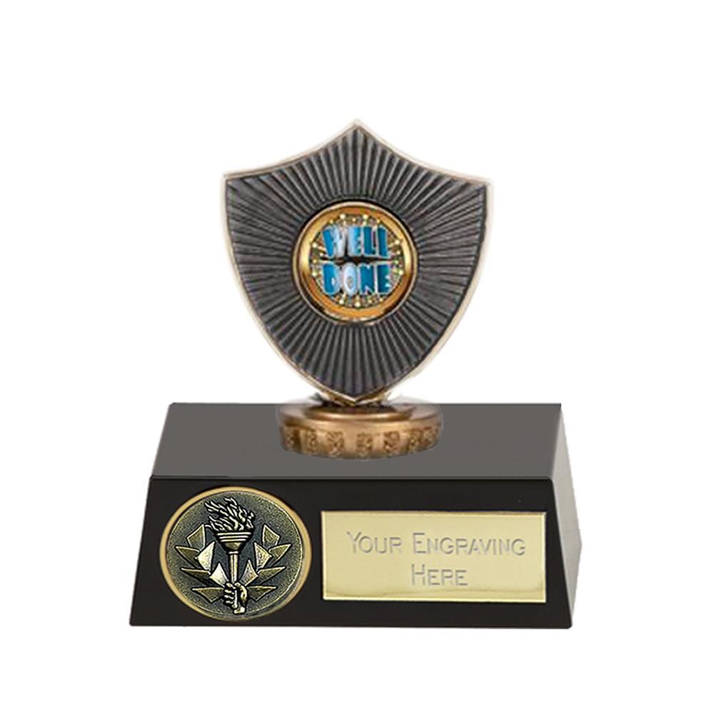 11cm Centre Shield Figure on Meridian Award