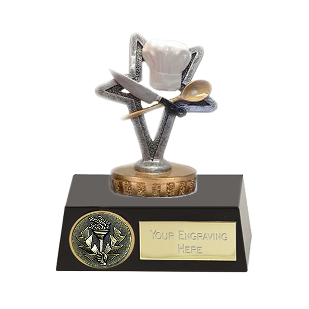 11cm Cookery Figure on School Meridian Award