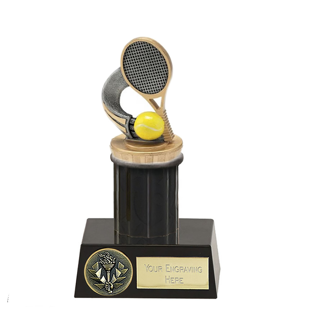 16cm Tennis Figure On Meridian Award