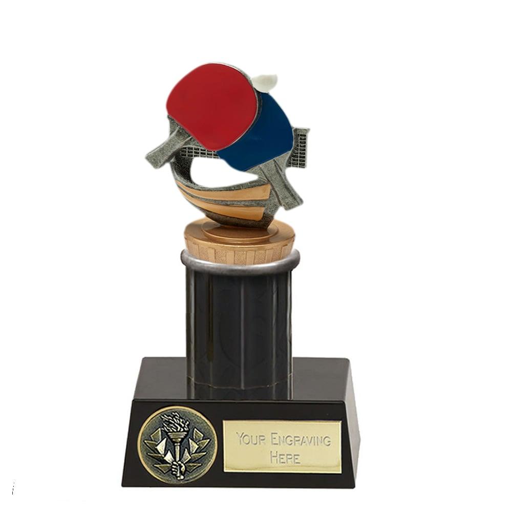 16cm Table Tennis Figure On Meridian Award