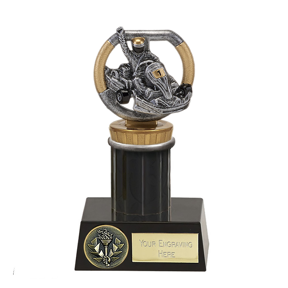 16cm Go-Kart Figure On Motorsports Meridian Award
