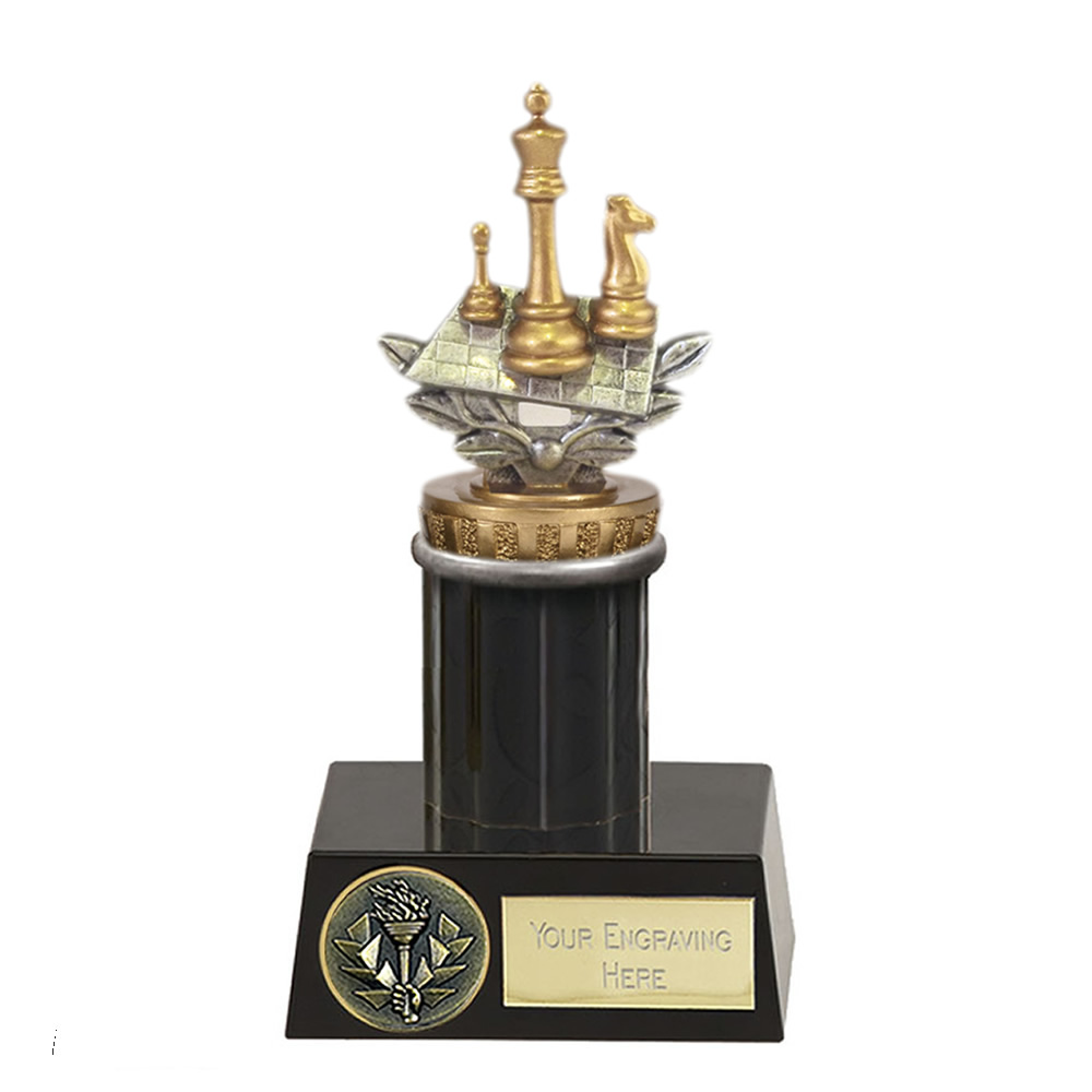 16cm Chess Figure on Chess Meridian Award
