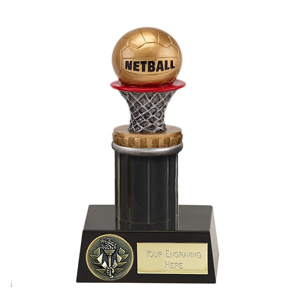 16cm Netball Figure on Netball Meridian Award