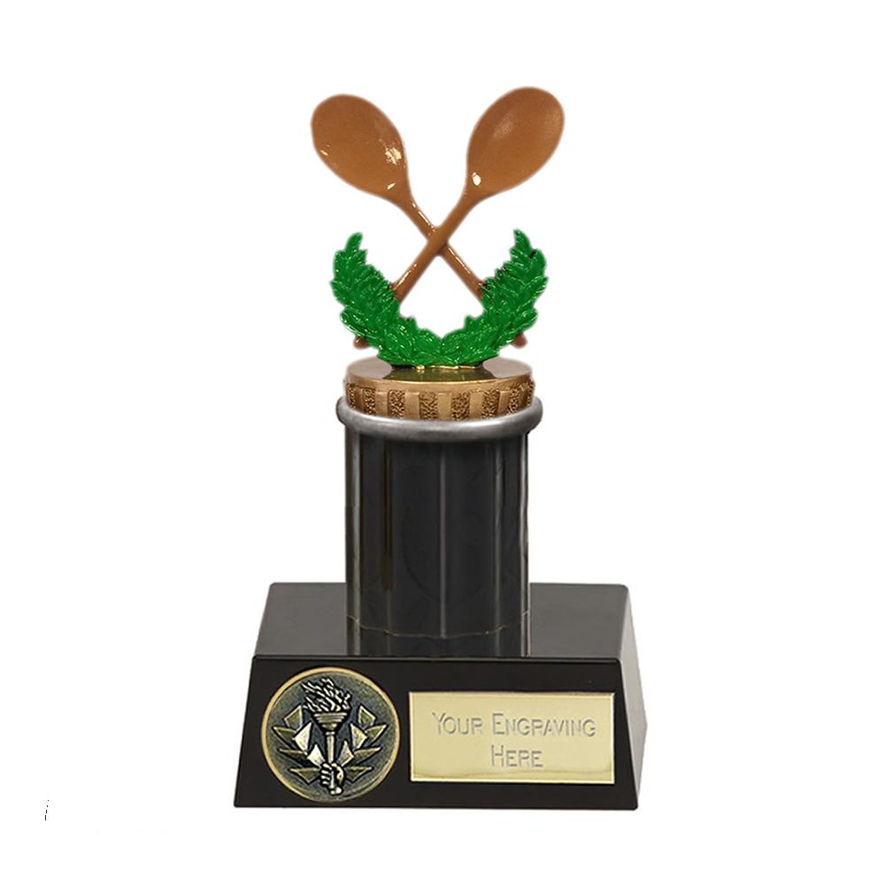 16cm Wooden Spoon Figure on Meridian Award