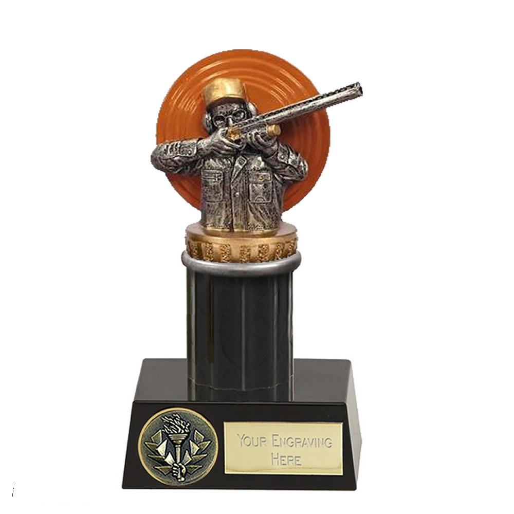 16cm Clay Shooting Figure on Shooting Meridian Award