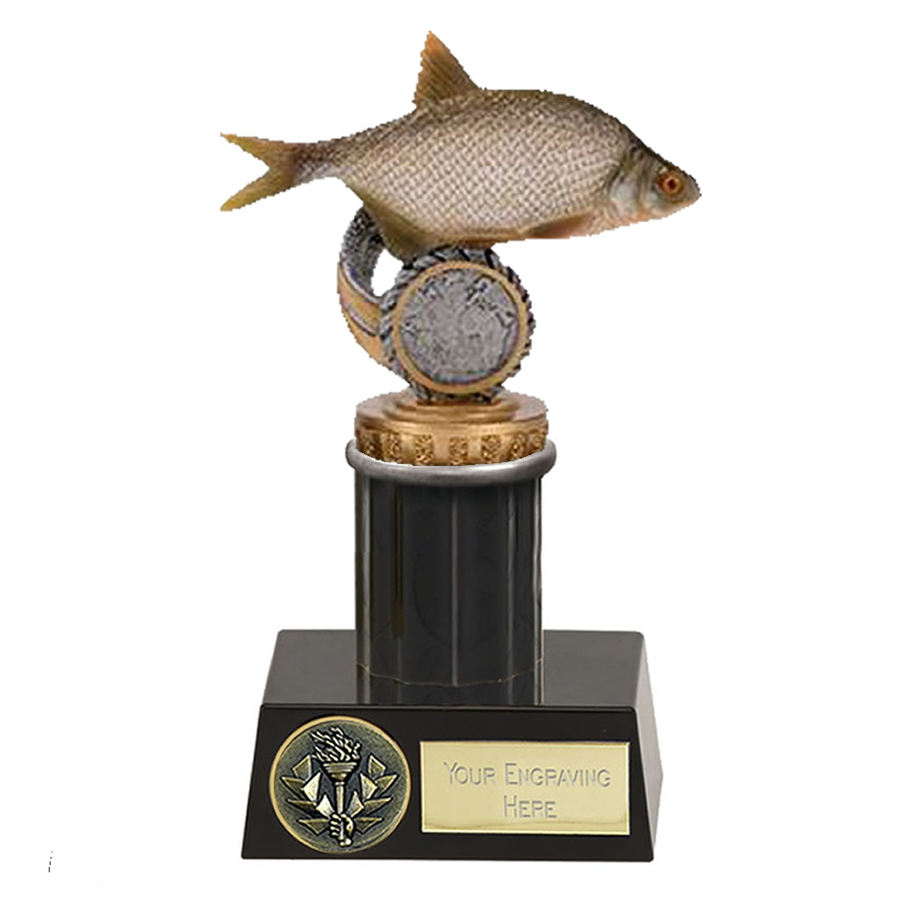 16cm Fish Bream Figure on Fishing Meridian Award