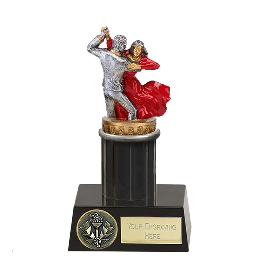 16cm Ballroom Dancing Figure On Dance Meridian Award