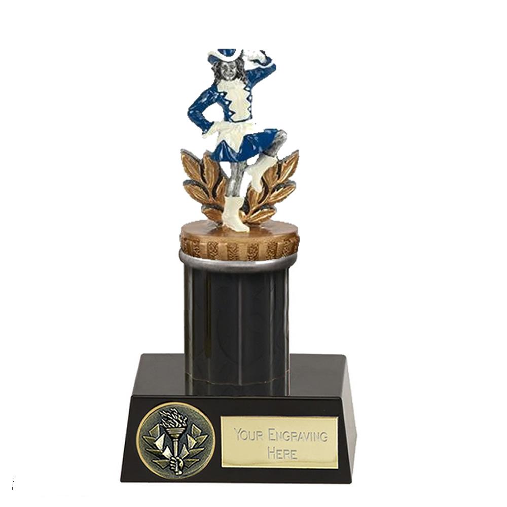 16cm Majorette Figure On Music Meridian Award