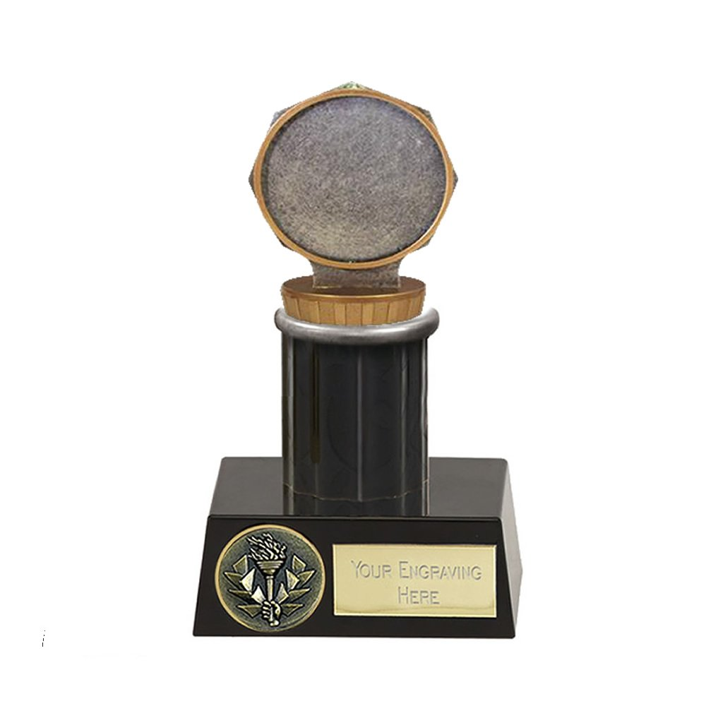 16cm 50mm Centre Holder Figure On Meridian Award