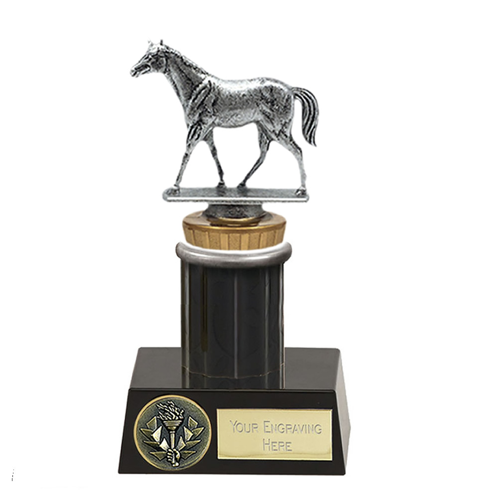 16cm Quarter Horse Figure on Horse Riding Meridian Award