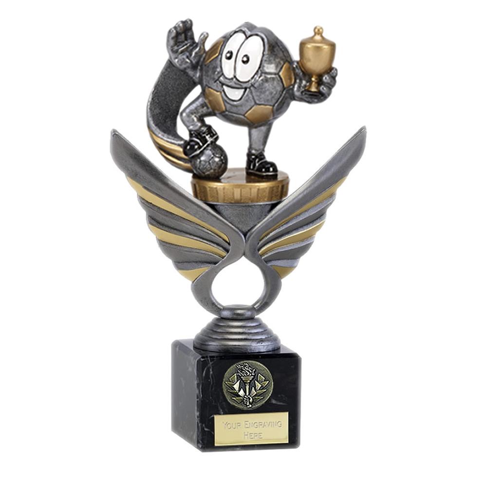 21cm Football Figure On Pegasus Award