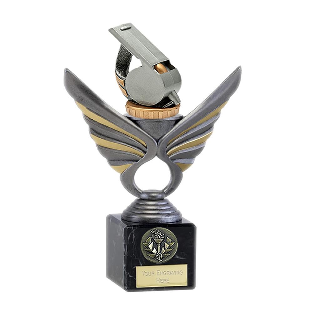 21cm Whistle Figure On Pegasus Award