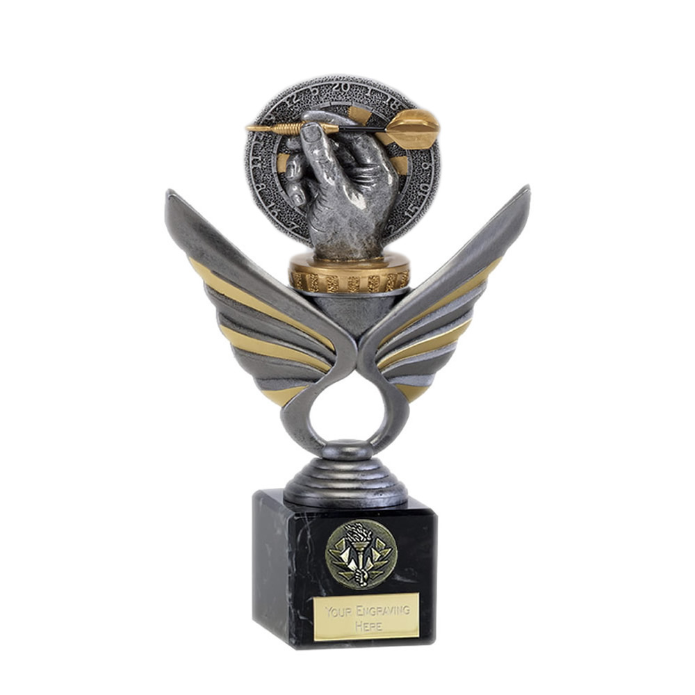 21cm Darts Figure On Pegasus Award