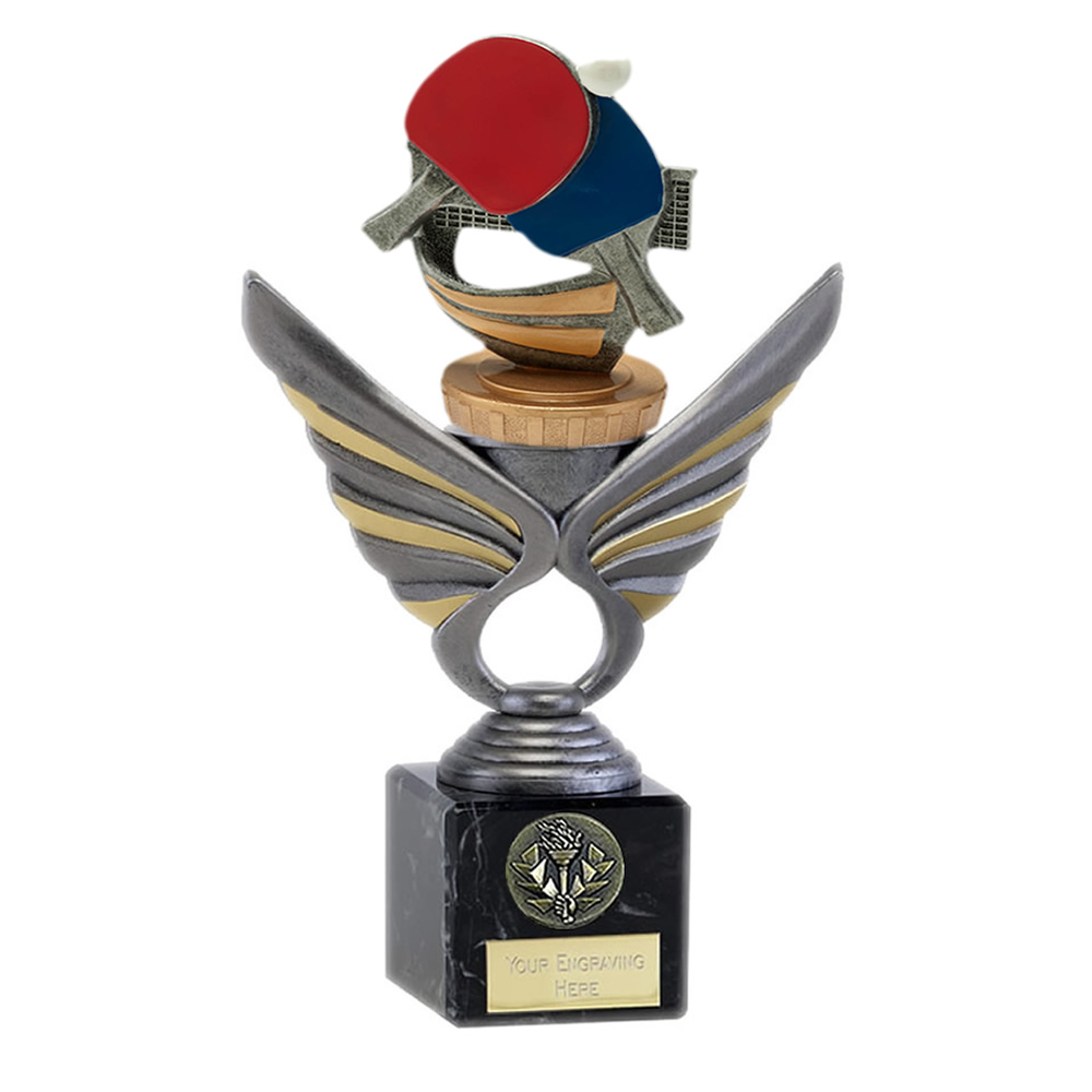 21cm Table Tennis Figure on Table Tennis Pegasus Award