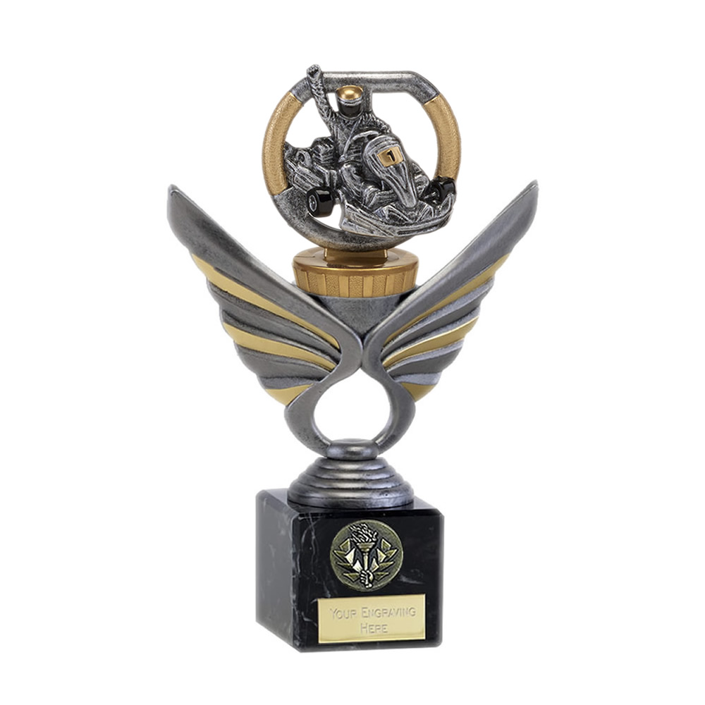 21cm Go-Kart Figure On Motorsports Pegasus Award
