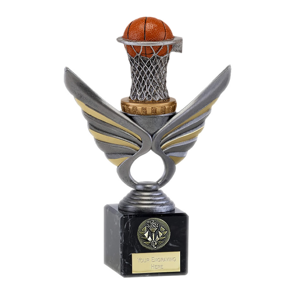 21cm basketball figure on Pegasus Award