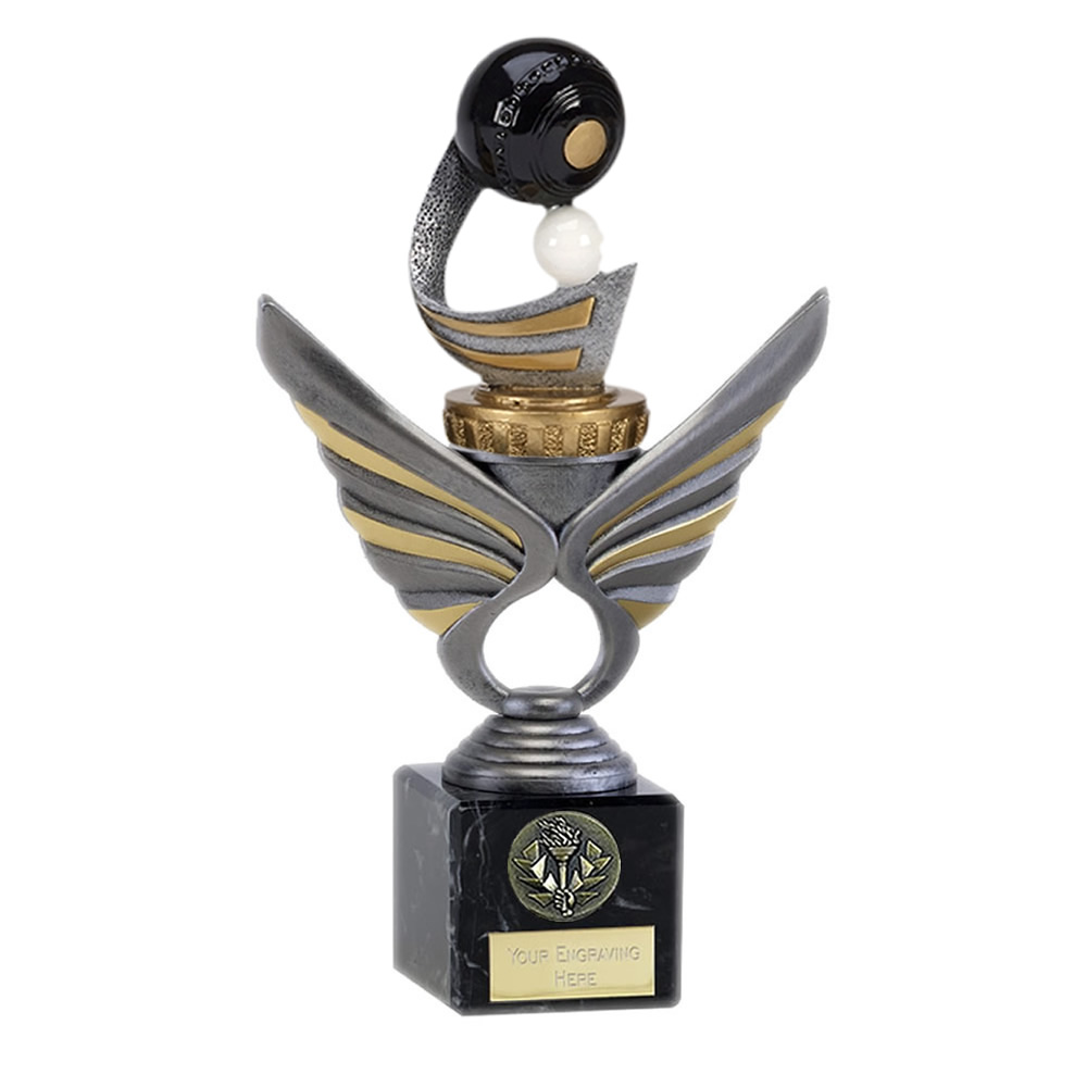 21cm Lawn Bowls Figure on Bowling Pegasus Award