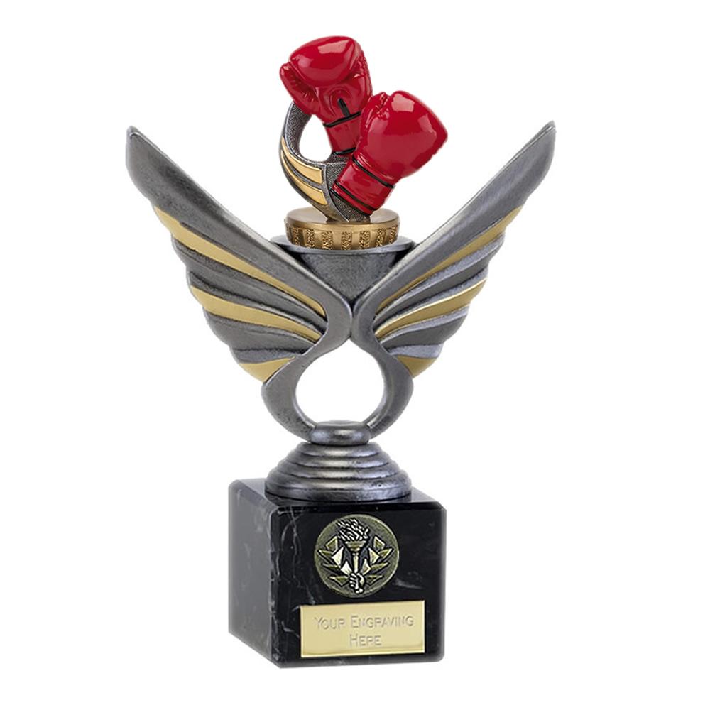 21cm Boxing Figure on Boxing Pegasus Award