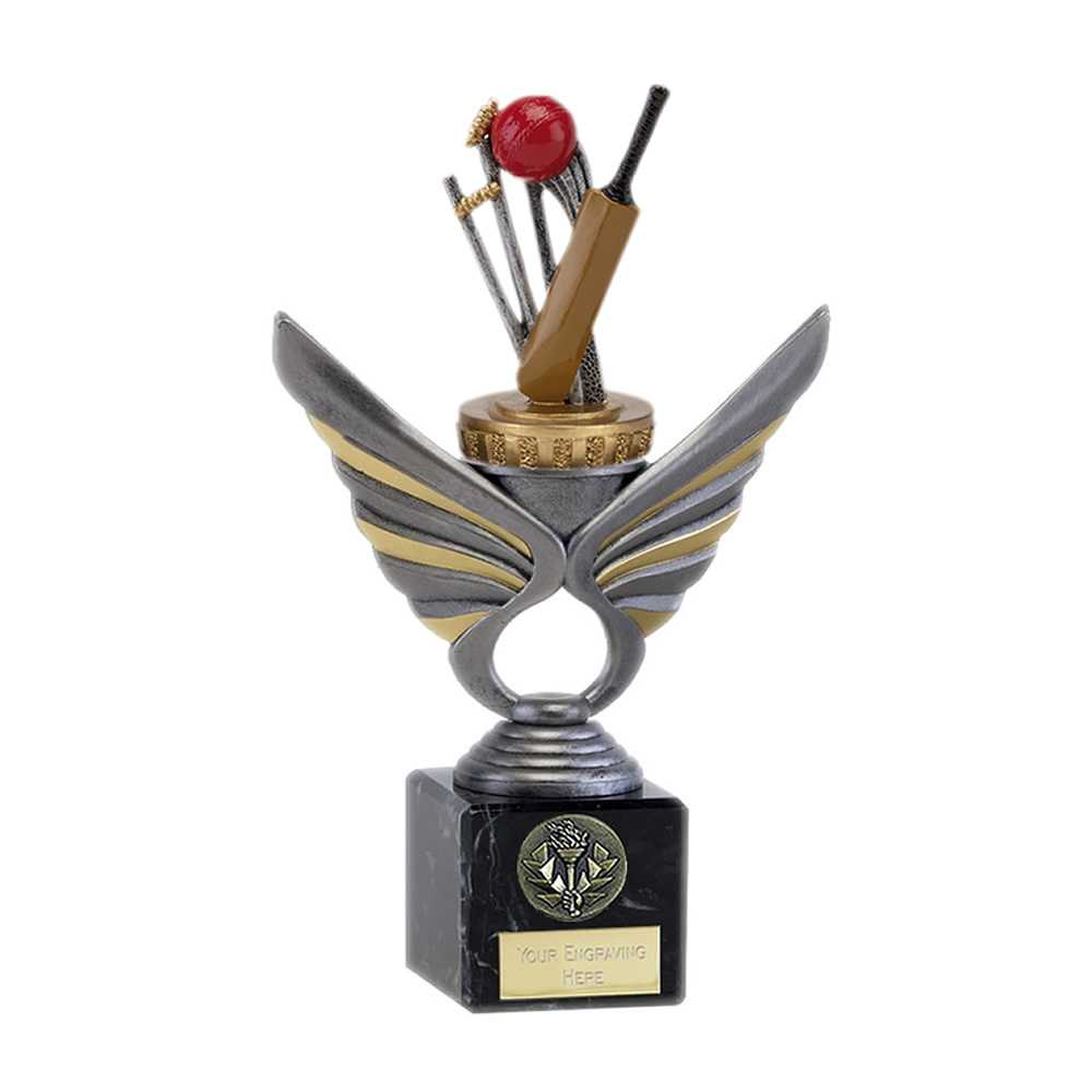 21cm Cricket Figure On Cricket Pegasus Award