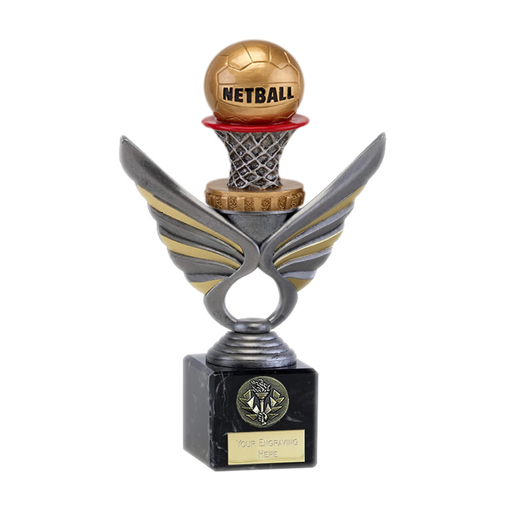 21cm Netball Figure on Netball Pegasus Award