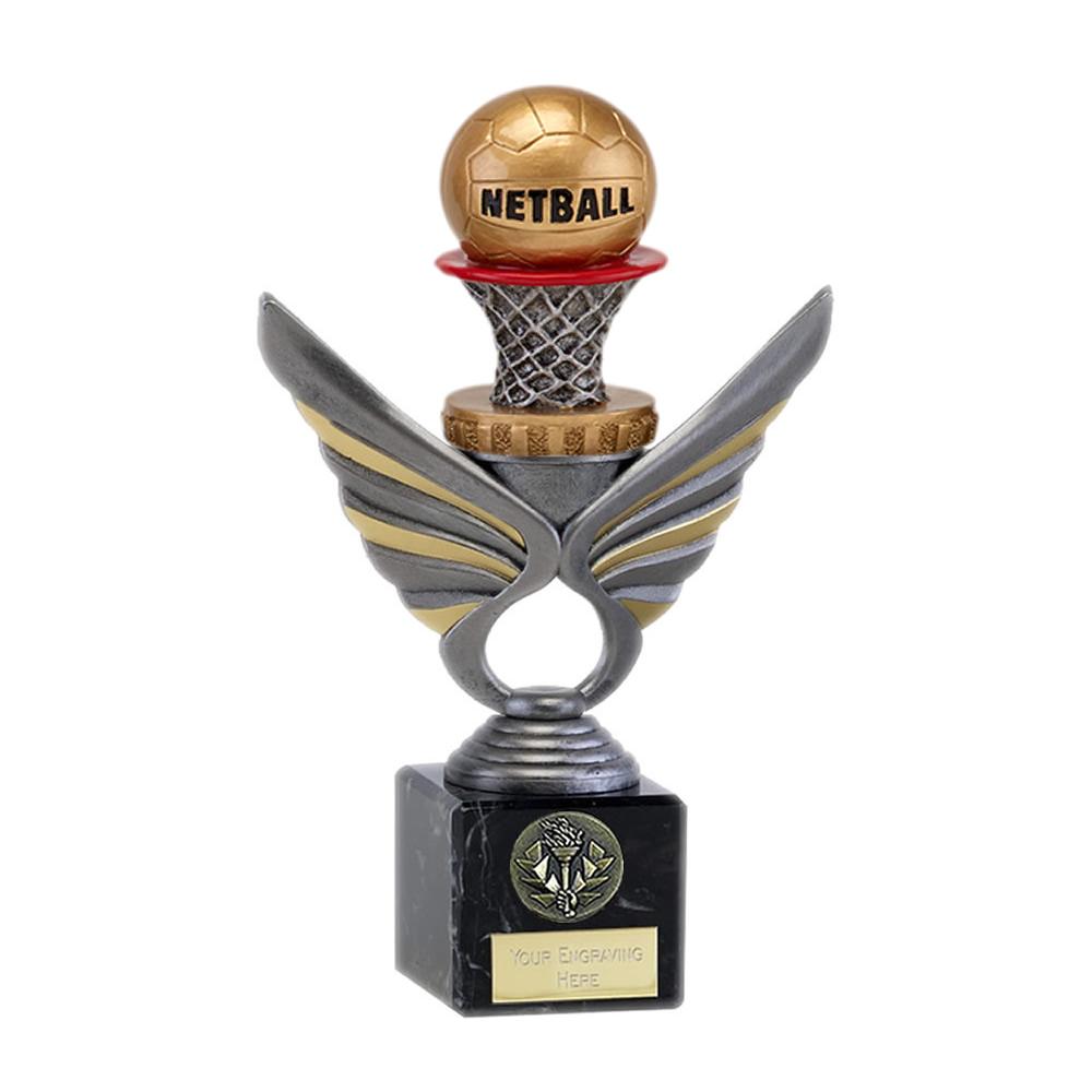 21cm Netball Figure on Netball Pegasus Award