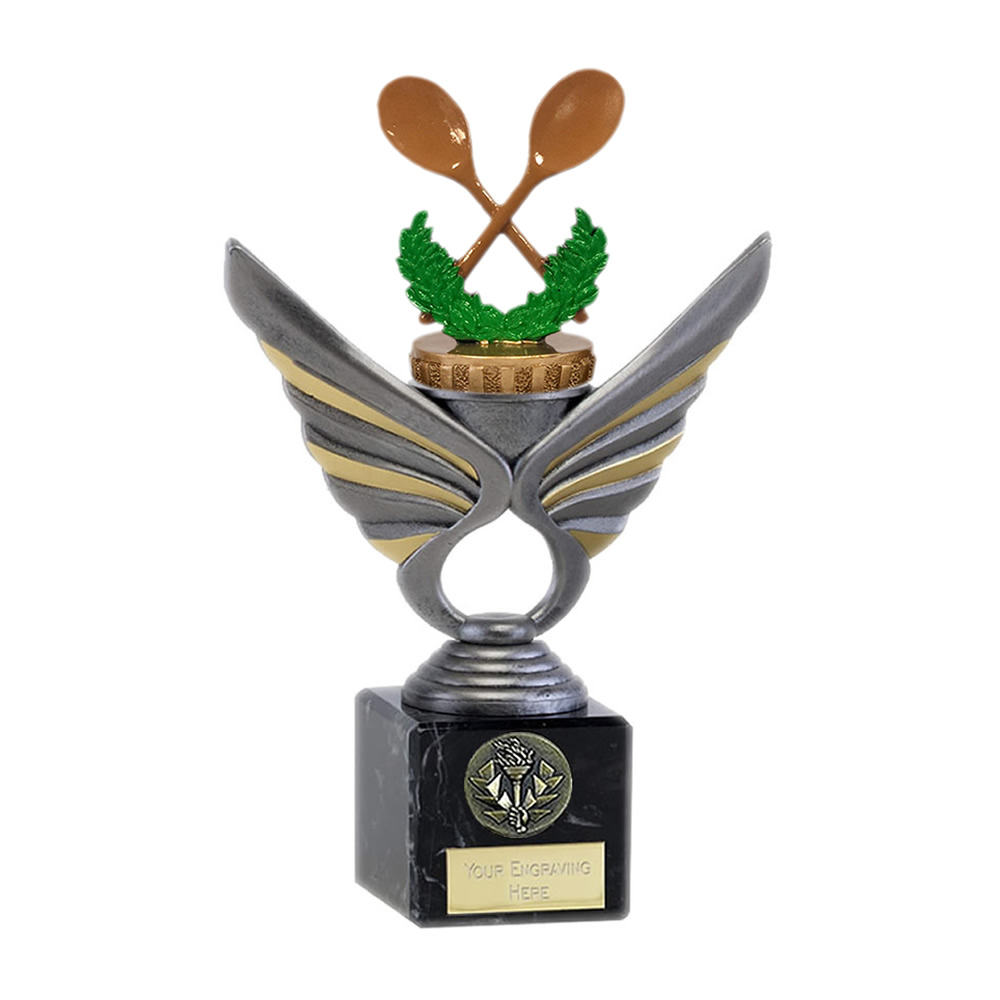 21cm Wooden Spoon Figure On Pegasus Award