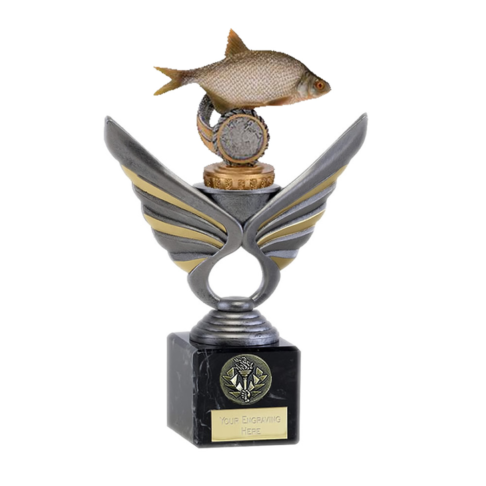 21cm Fish Bream Figure on Fishing Pegasus Award