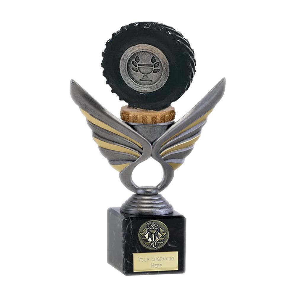21cm Tractor Tyre Figure on Tractor Pegasus Award