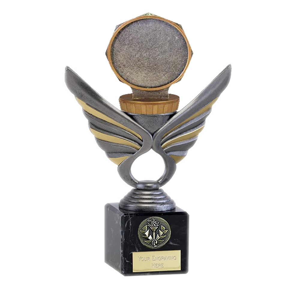 21cm Centre Holder Figure on Pegasus Award