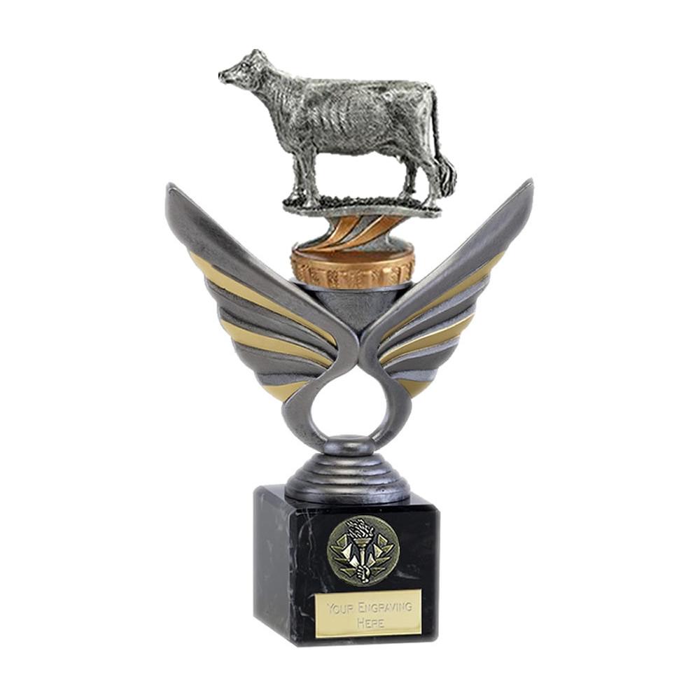 21cm School Pupils Figure on School Pegasus Award