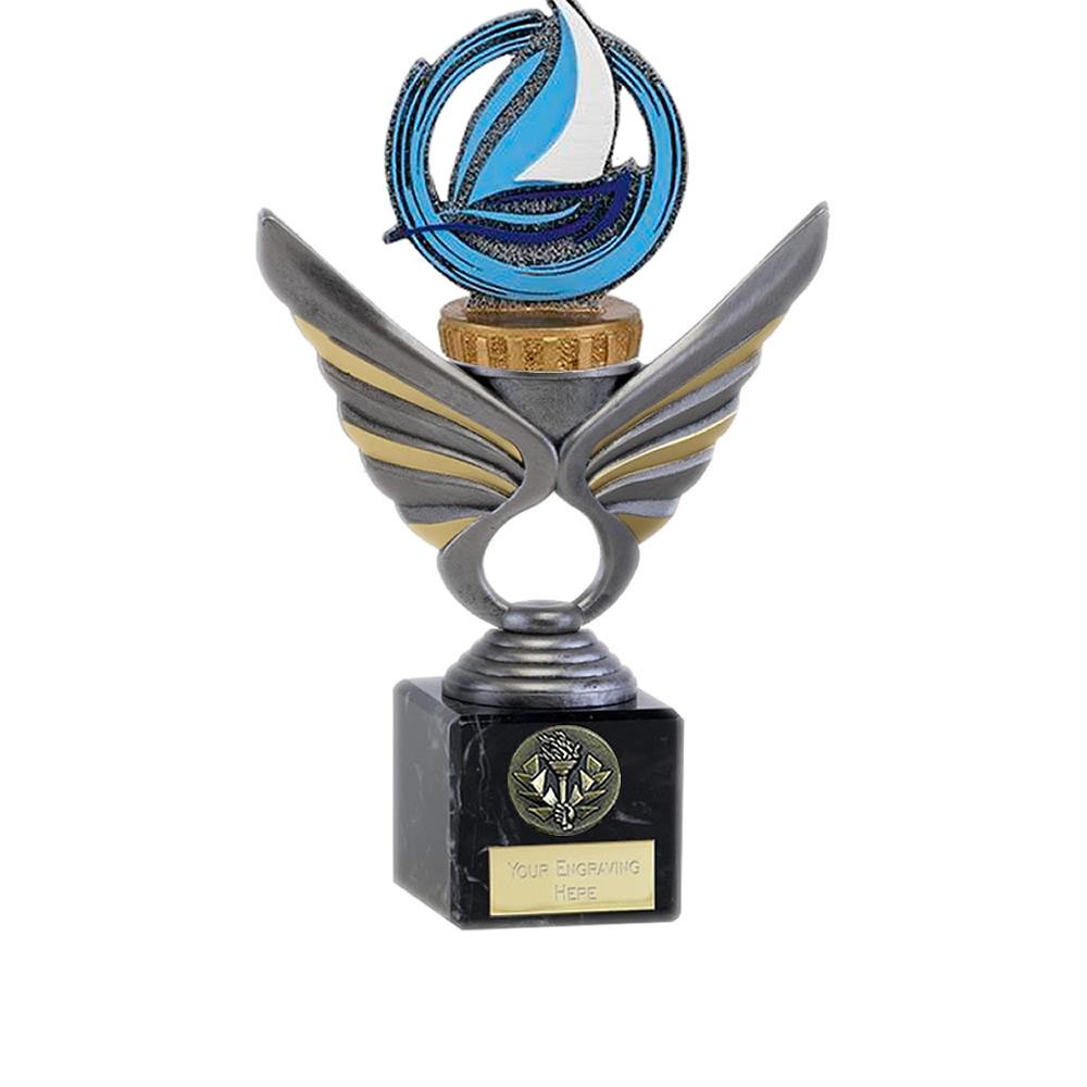 21cm Sailing Figure on Sailing Pegasus Award